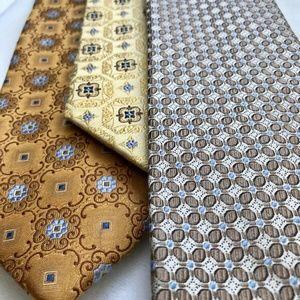 Three Jos. A BANK Signature Collection Silk Ties